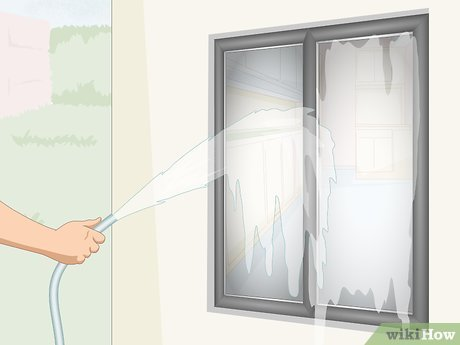 How to Wash Outside Windows